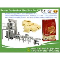 Buy cheap High efficiency frozen ravioli weighting & sealing machinery,frozen ravioli double servo packing machine from wholesalers