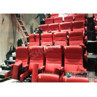 China Immersive 4D Cinema Equipment With Electric System And Customized Seats Number wholesale