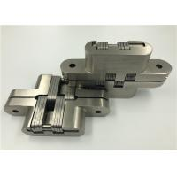 China Custom Made Invisible Spring Hinges , Stainless Steel Continuous Hinges Heavy Duty wholesale