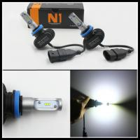 China N1 S1 8000LM 50W H7 H8 H9 H10 H11 9006 9005 LED Headlight Repalcement headlamps DRL fog light wholesale