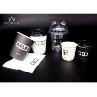 China 4oz - 16oz Custom Disposable Paper Cups Customize Branded For Hot / Cold Drinks wholesale
