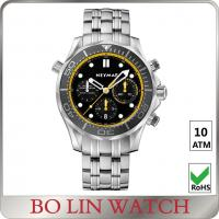 Buy cheap Sub Small Dial Stainless Steel Sports Watch Japanese Movt Mens Stainless Steel Watches from wholesalers