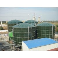 China Safe Glass Lined Steel Tanks UASB Reactor Three Phase Separator 40 M3 To 9000 M3 on sale