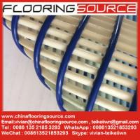 China Non slip pvc tube wet area matting swimming pool matting and changing room matting Black Color Roll Size wholesale