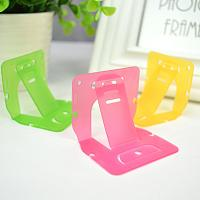 China Mini Portable Table PP Plastic Cell Phone Stand Holder 2x5cm SGS wholesale