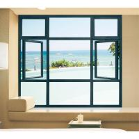 China Grey Commercial Casement Windows wholesale