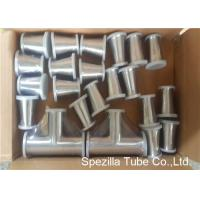 China TP316L Sanitary Valves And Fittings 1/2'' - 4'' Stainless Steel Reducing Tee Cross Ends wholesale