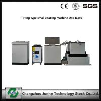 China Easy Operation Metal Coating Line Tilting Type Small Coating Machine White / Gray Color wholesale