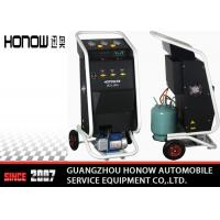 China Manual Mode Car AC Refrigerant Recovery Machine 3600L/ Hour Vacuum Speed on sale