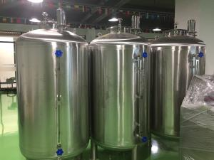China 500L Floating Roof Cream Storage Tank For Milk Processing wholesale