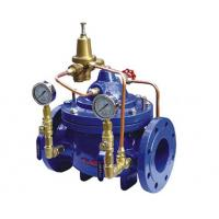 China Diaphragm Type Hydraulic Control Valves , Automatic Main Emergency Water Shut Off Valve wholesale