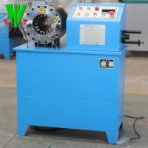 China Max opening 114 mm air hose crimper range 1/4''-2''hydraulic hose making machine wholesale