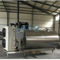 China Professional Small Scale Milk Processing Machine Equipment For Sale Stainless Steel Milk Cooling Tank/Milk Cooling Tank on sale