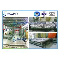 China Paper Mill Pallet Handling Systems Customized Model With Roller Conveyor wholesale