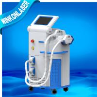 China  Wind Water Skin Cooling Elight IPL RF Machine 2000W standing Hair Removal  for sale