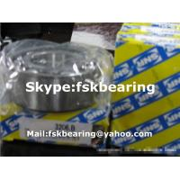 China SNR Brand 3206 B Double Row Angular Contact Ball Bearing Black Cage / Brown Cage wholesale