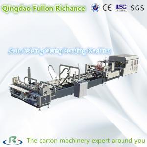 China Computerized Automatic Folder Gluer and Bunding Machine for Box Making wholesale
