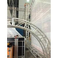 Quality Stage Screw Aluminum Square Truss , Silver Tube Truss System for sale