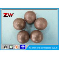 China SGS verified Forged SAG mill grinding balls for power station and mining wholesale