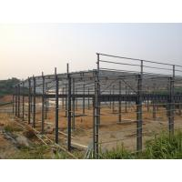 China Prefabricated Steel Structure Warehouse , Light Gauge Industrial Steel Structures wholesale