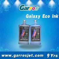 China Excellent quality environment friendly galaxy eco solvent ink for dx5 wholesale
