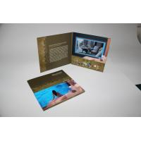 China 4G memory Advertising Video Brochure Card with built - in speker , 10.1inch wholesale