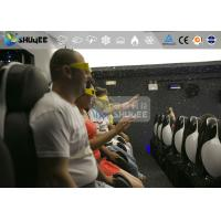 China Interactive Excited Feeling 7D Movie Theaters With Vibration And Lighting Effects wholesale