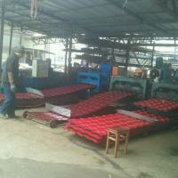 China 5 Waves Glazed Panel Making Machine For Country House In Chile Village wholesale