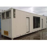 China Steel Structure Anti - Storm 40ft Shipping Container With Pull Down Doors wholesale