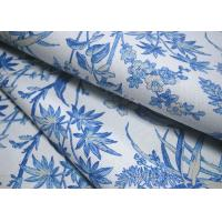 China 12OZ Recycled Cotton Canvas With Printed / Natural Cotton Fabric For Bags wholesale
