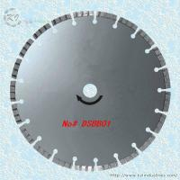 China Silver Brazed Diamond Turbo Saw Blade for Cutting Granite and Marble - DSBB01 wholesale