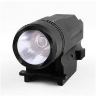 Quality Tactical Pisto flashlight with quick release mount base for sale