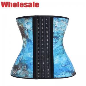 China Safe Exquisite Pattern 5XL 6XL Waist Trainer 9 Steel Customized Logo wholesale