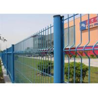China Surround Garden Triangle Fence Panel Plastic Coated Wire Easily Assembled wholesale