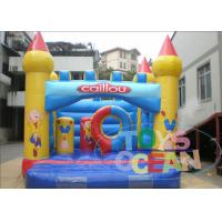 China Kids Trampoline Outdoor Caillou Inflatable  Bounce Castle For Party wholesale