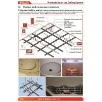 China Suspending Drywall Ceiling Metal frame (Main channel, Furring channel) with ISO,ASTM,SONCAP wholesale