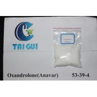 Quality CAS 53-39-4 Raw Steroid Powders White Powders Oxandrolone / Anavar Sex Drugs for sale