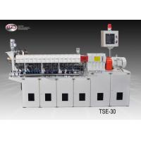 China Carbon Black Laboratory Twin Screw Extruder , Masterbatch Lab Scale Extruder wholesale