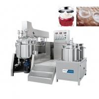 China Cosmetic Mixer Machine SS Toothpaste Gelatin Shampoo High Shear Homogenizer wholesale