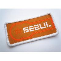 China Embroidery Badge Customizable Iron On Patches Garment Accessories wholesale