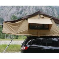 China Portability 2-3 Person Large Turnover Roof Top Tent Soft Shell For 4x4 Accessories wholesale