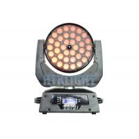 36*10W RGBW 4in1 LED Wash Moving Head Zoom Light With Electronic Focusing