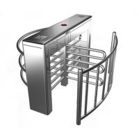 China Stainless Steel Biometric Full Height Turnstile With LED Display For Apartment wholesale
