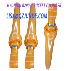 China Construction equipment parts, Hyundai R290 bucket hydraulic cylinder ass'y Hyundai excavator parts wholesale