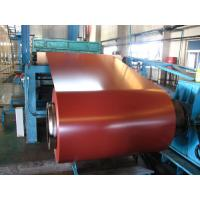 China Extruded 6063 Aluminum Coil PE PVDF Colored Roller Coated Thickness 0.5 - 3.0mm wholesale