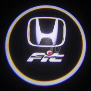 China Gen 2nd  led Door Projector Lights  Honda FIT badge led light car accessories wholesale