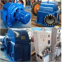 China Turgo Water Turbine  Hydroelectric Turbine Hydro Generator 70kW 500r / Min wholesale