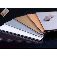 China Aluminium Sandwich Panels For Curtain Wall /Facade  System Decoratrion wholesale