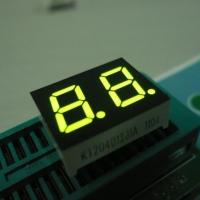 China Green Small Custom 7 Segment Led Display Two Digit For Instrument Panel 0.4 Inch wholesale