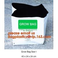 China cultivating bags, 100% biodegradable various Wholesale Poly Black Square Garden Plastic Baby Flower Plant Nursery Poly B on sale